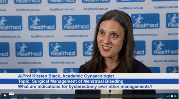 Surgical Management of Menstrual Bleeding