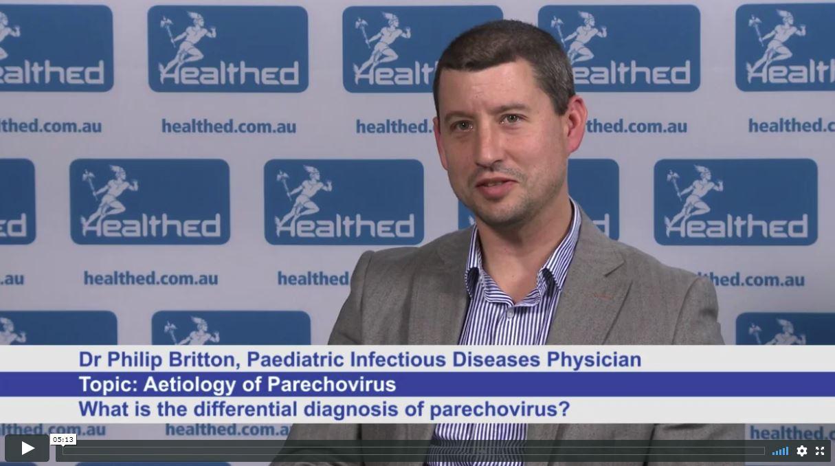 Aetiology of Parechovirus