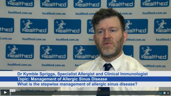Management of Allergic Sinus Disease