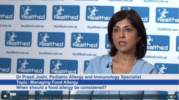 Managing Food Allergy