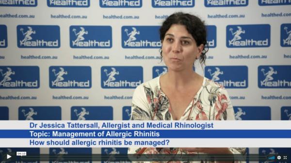Management of Allergic Rhinitis