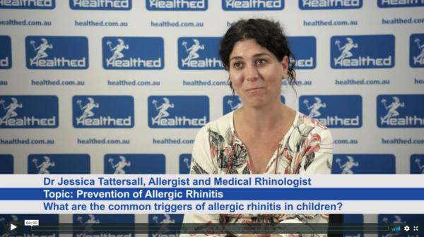 Prevention of Allergic Rhinitis