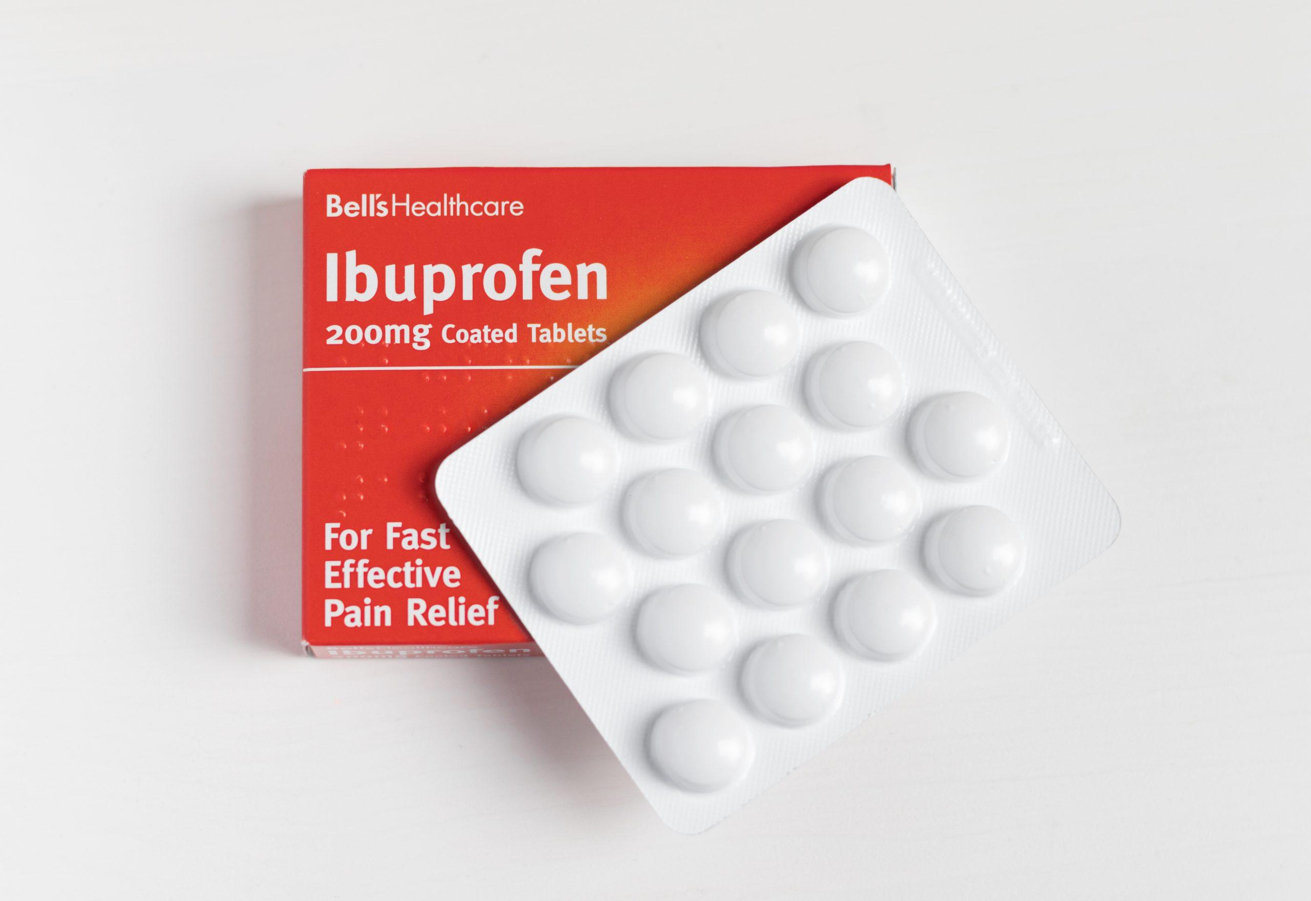 Ibuprofen for COVID-19 symptoms?